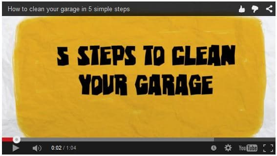 How to Clean Your Garage in 5 Simple Steps