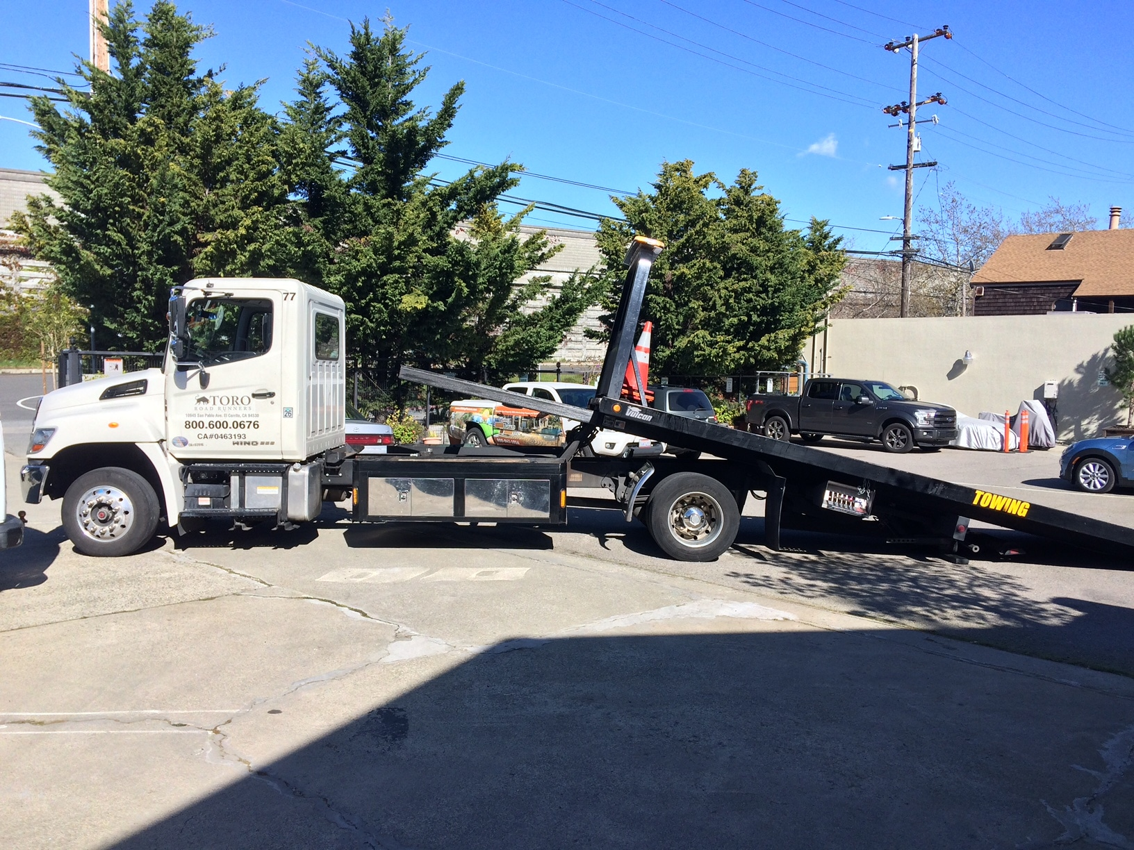 Professional Towing in the Bay Area