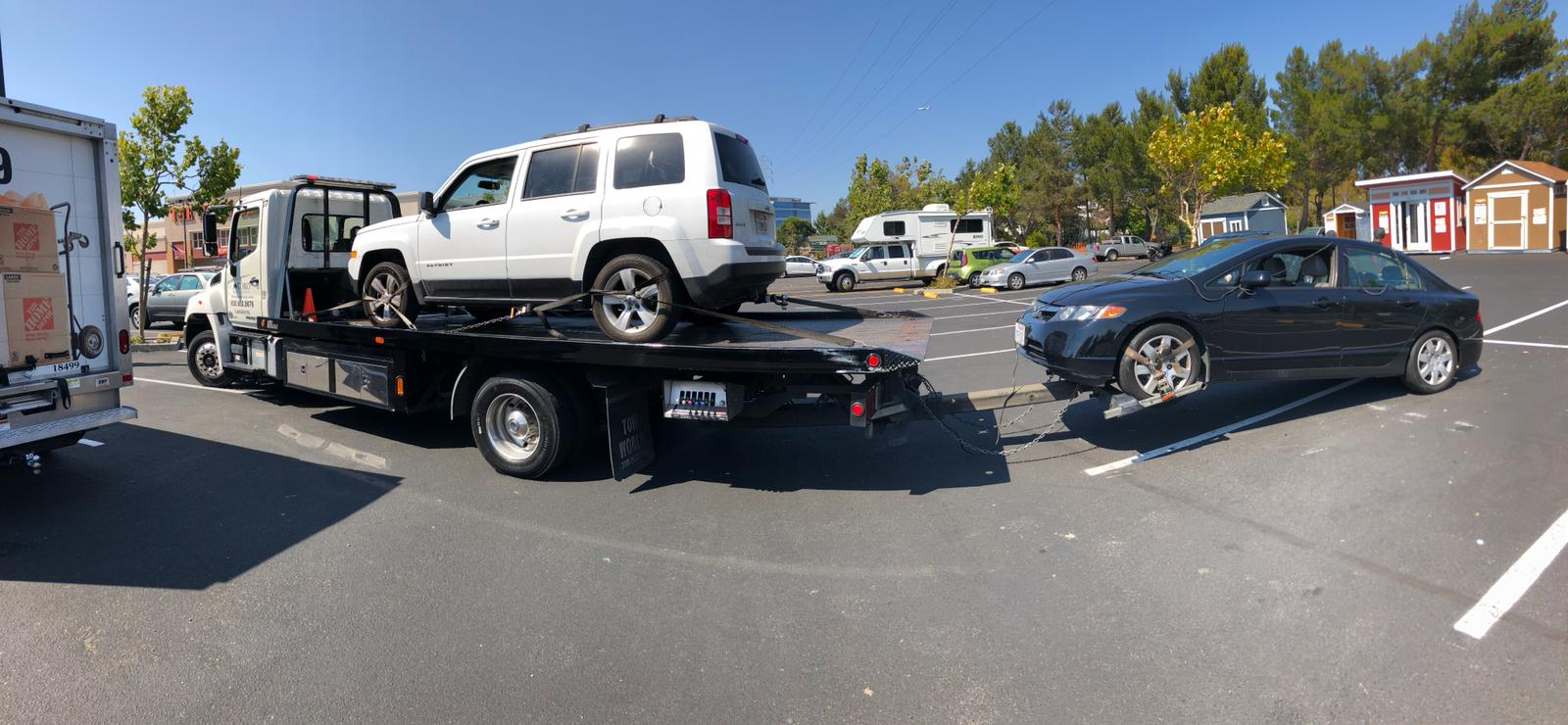 Towing Pros' at Your Service