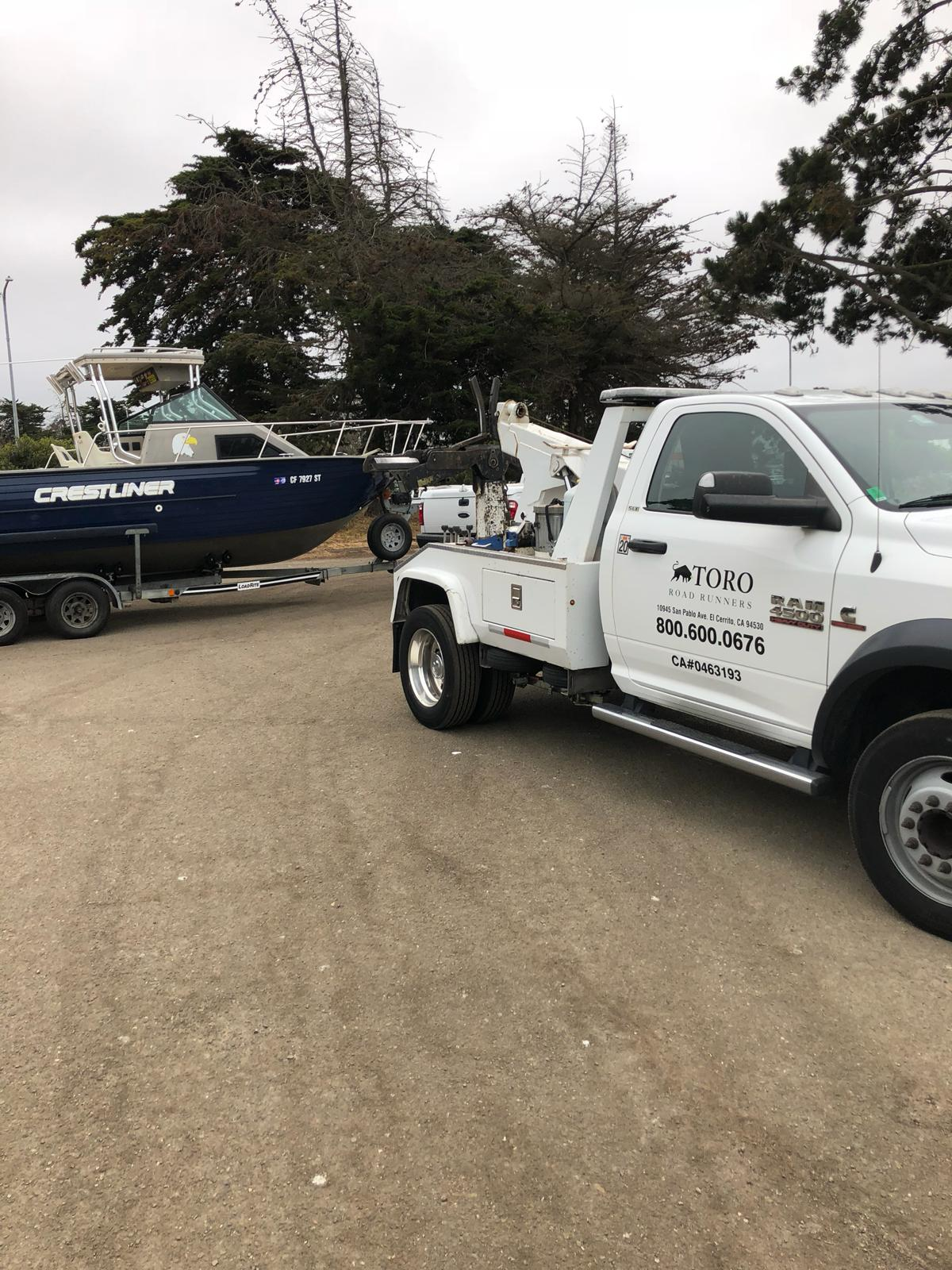 Boat Towing in the Bay Area