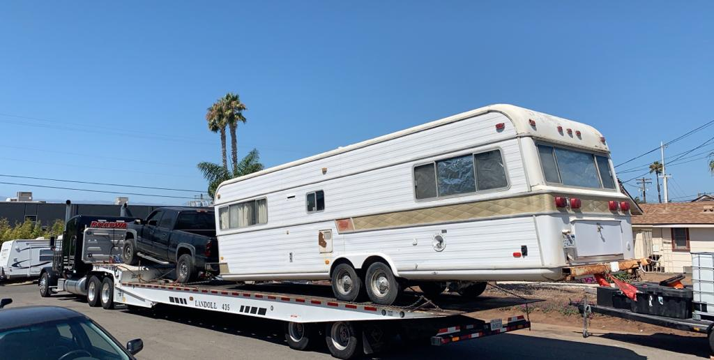 RV Towing in the Bay Area