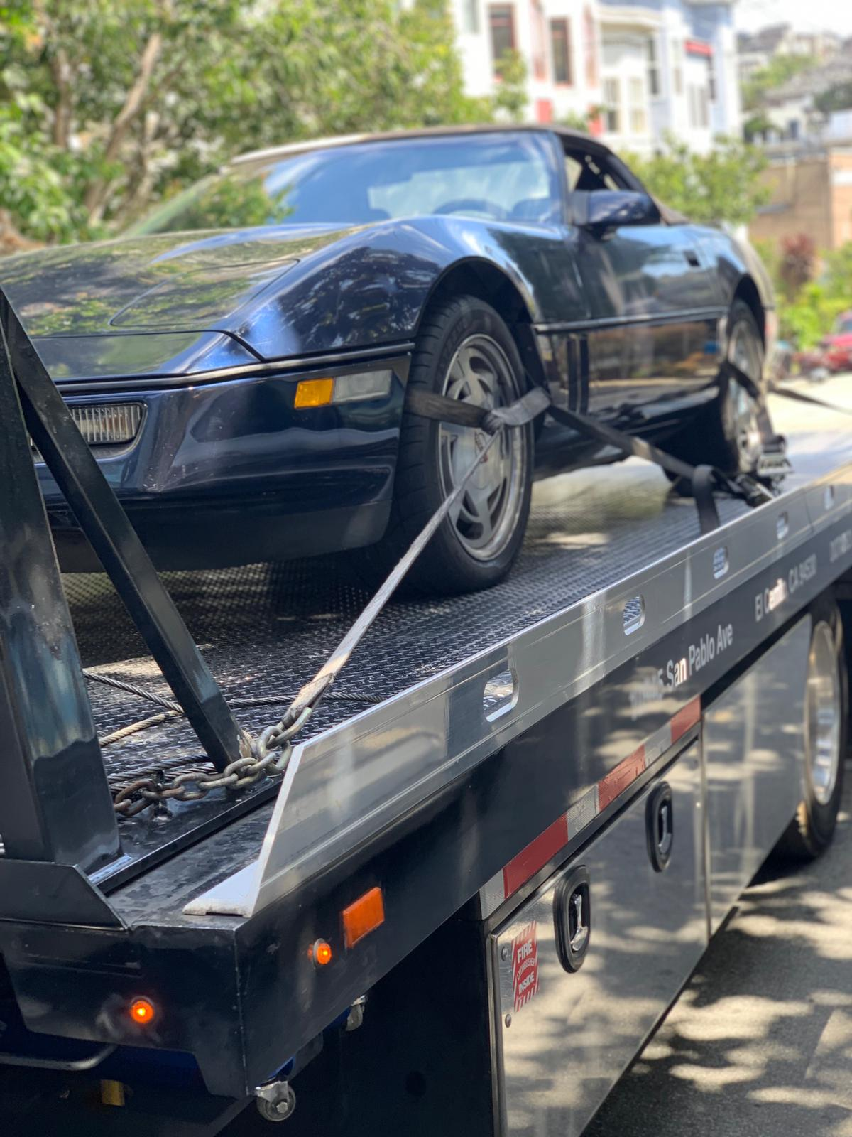 24/7 Towing in the Bay Area by Toro Road Runners