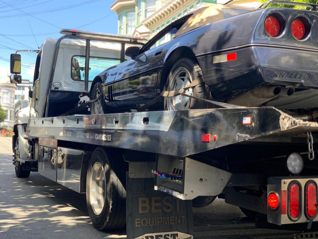 Classic Car Towing in the Bay Area
